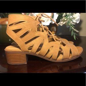 Like new sandals.